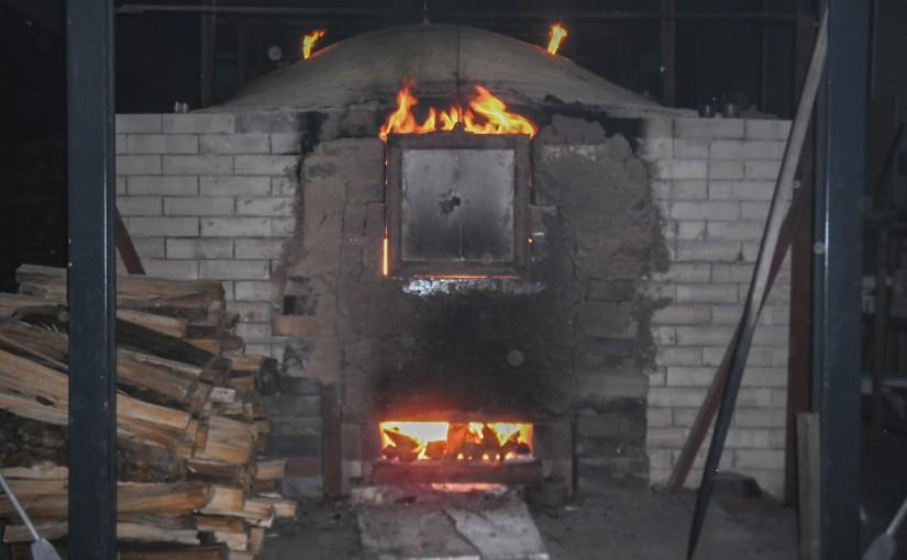 焼き窯 外観